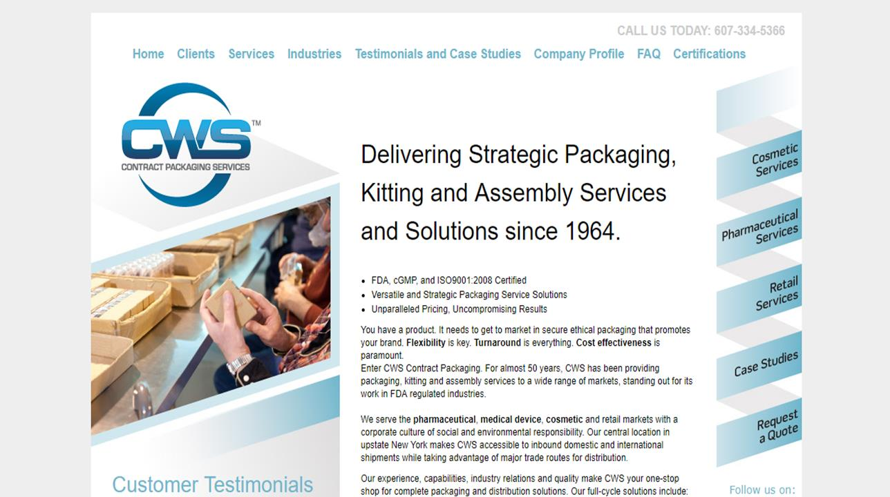 CWS Contract Packaging
