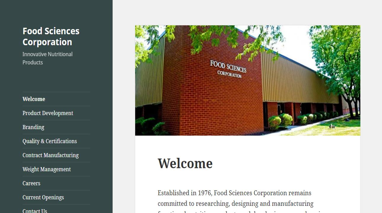 Food Sciences Corp.