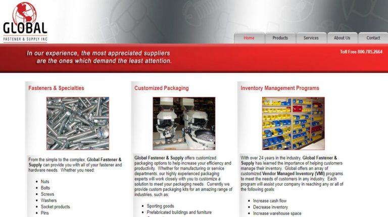 Global Fastener & Supply, Inc.