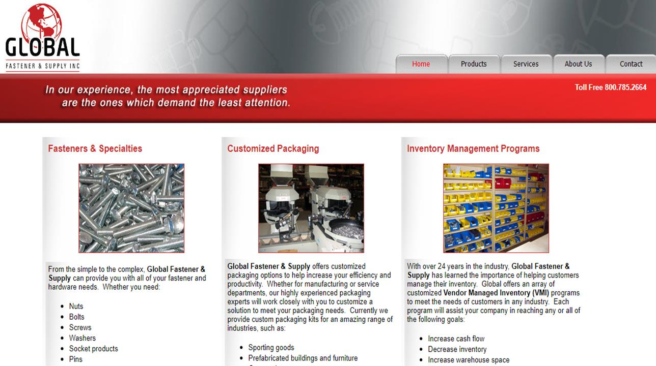 Global Fastener & Supply, Inc.
