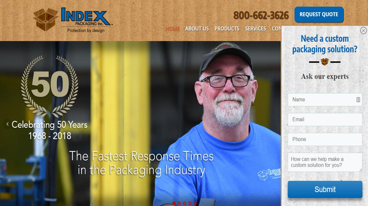 Index Packaging, Inc.