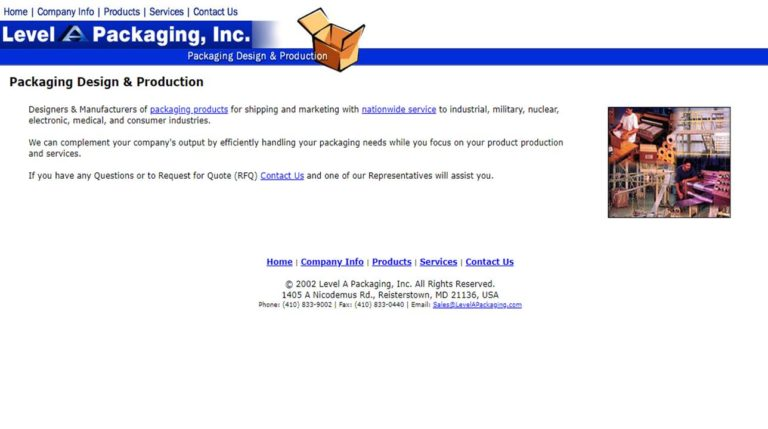 Level A Packaging, Inc.