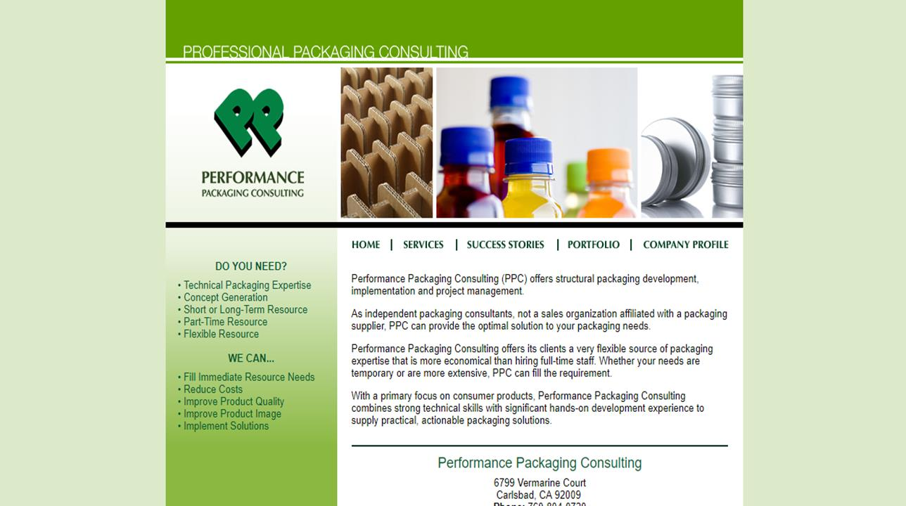 Performance Packaging Consulting (PPC)