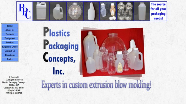 Plastics Packaging Concepts, Inc.