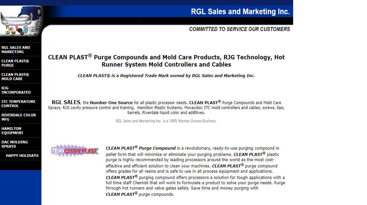 RGL Sales and Marketing Inc.