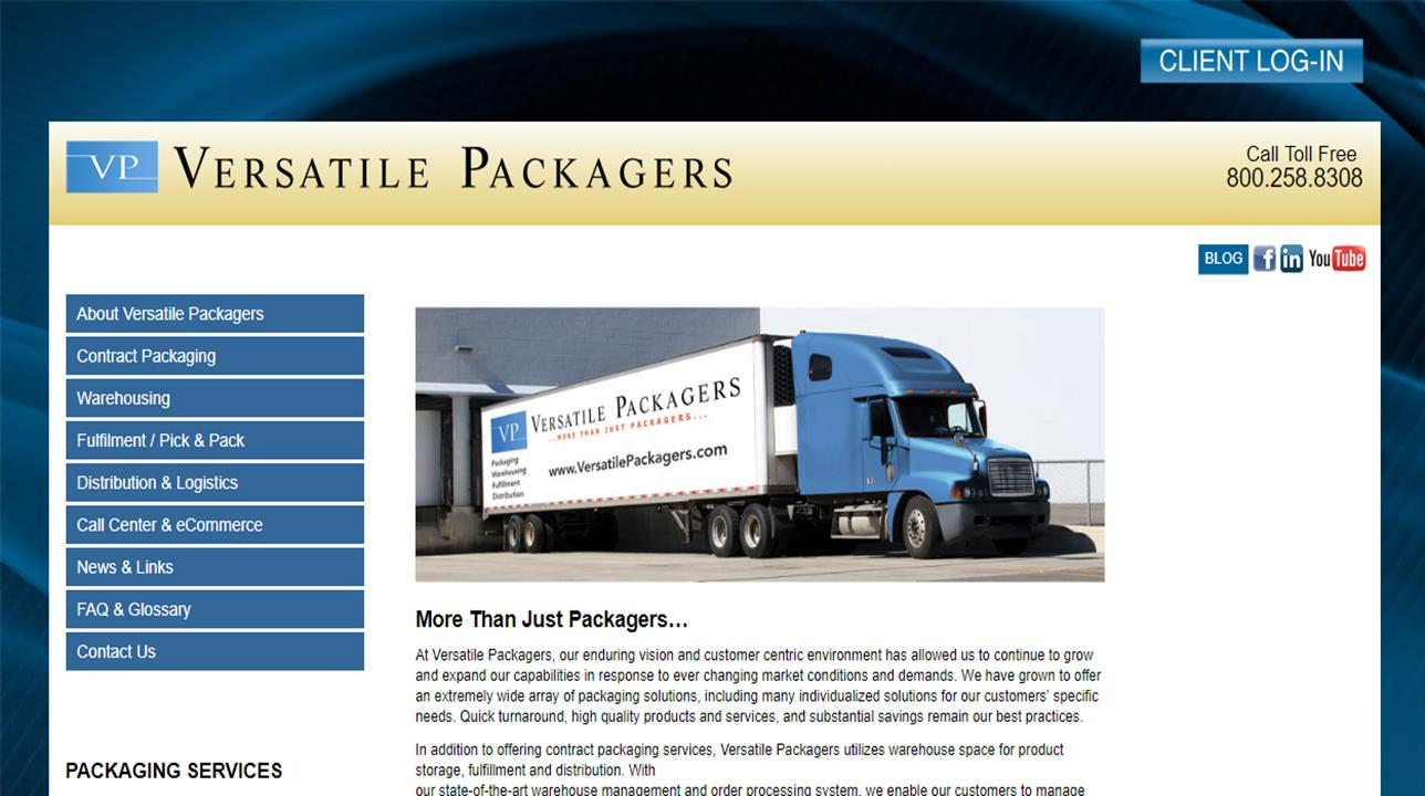 Versatile Packagers, Inc.