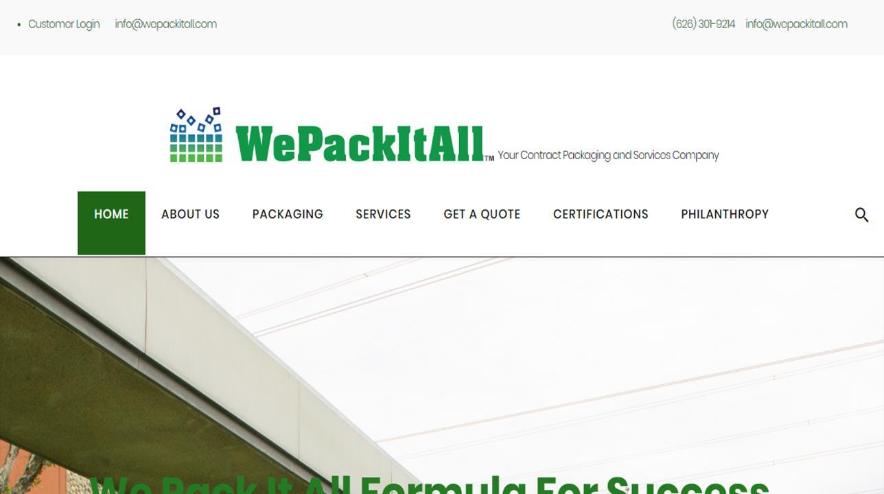 WePackItall