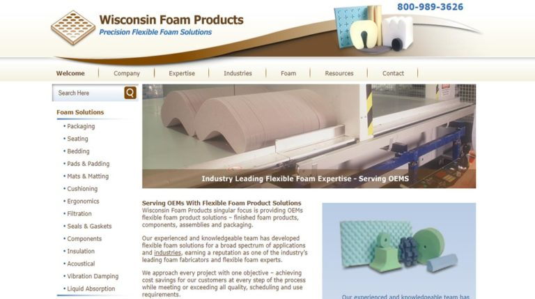 Wisconsin Foam Products, Inc.