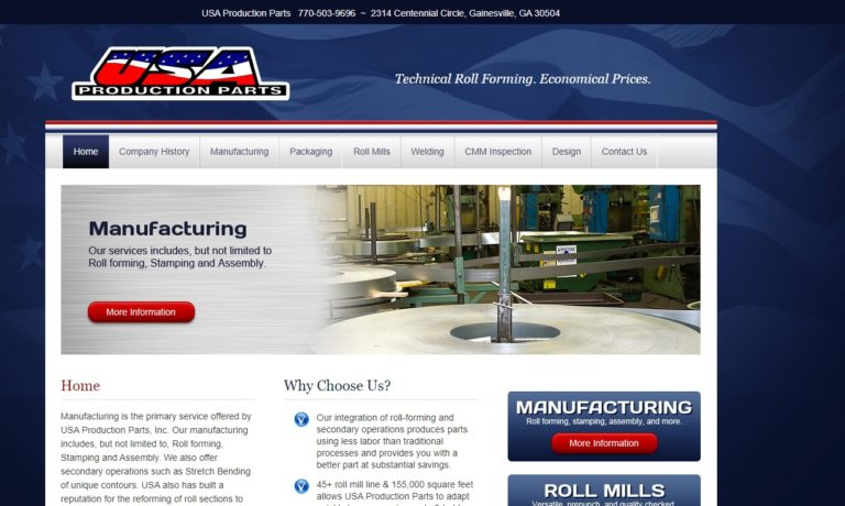 USA Production Parts